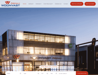 woonvast.nl screenshot