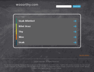 wooorthy.com screenshot