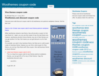 woothemescouponcodes.com screenshot