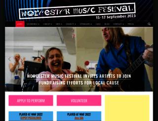 worcestermusicfestival.co.uk screenshot