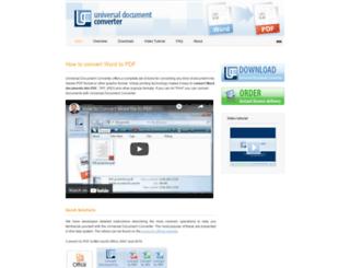 word-to-pdf.com screenshot