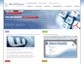 word-viewer.com screenshot