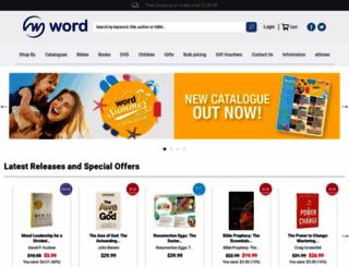 word.com.au screenshot