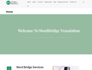 wordbridgetranslation.com screenshot