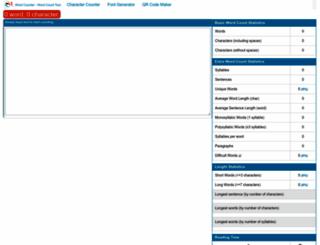 wordcounttools.com screenshot