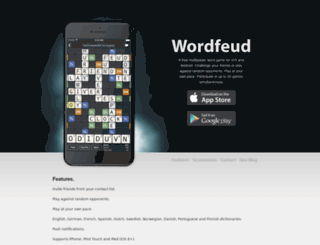 wordfeud.com screenshot