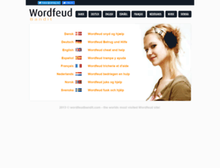 wordfeudbandit.com screenshot