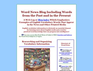 wordnews.info screenshot