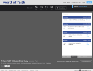 wordoffaith.churchonline.org screenshot