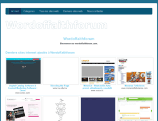 wordoffaithforum.com screenshot
