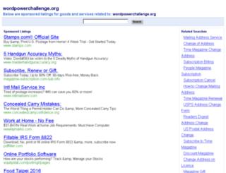 wordpowerchallenge.org screenshot