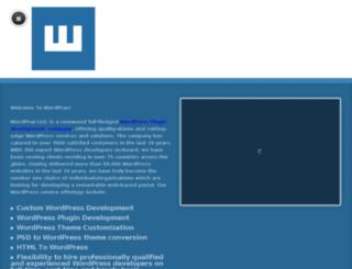 wordprax.freeweb.me screenshot