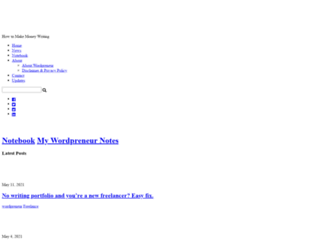 wordpreneur.com screenshot
