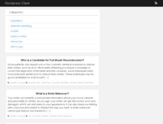 wordpress-client.com screenshot