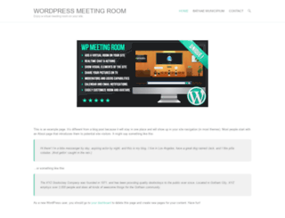 wordpress-meeting-room.com screenshot
