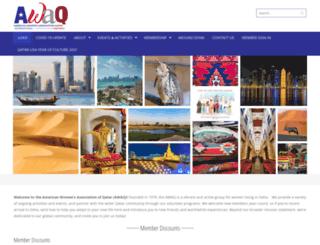 wordpress.awaqatar.com screenshot