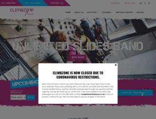 wordpress.climbzone.co.uk screenshot