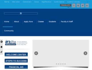wordpress.contracosta.edu screenshot
