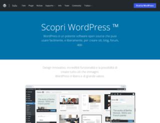 wordpress.it screenshot