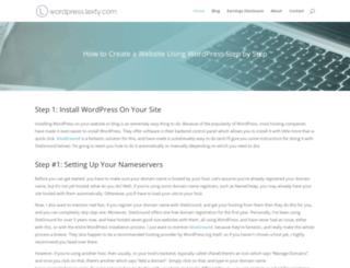 wordpress.lexty.com screenshot