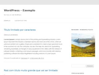 wordpress.quebrandoacabeca.com screenshot