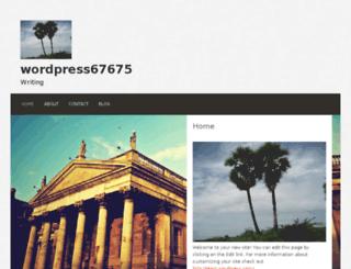 wordpress67675.wordpress.com screenshot