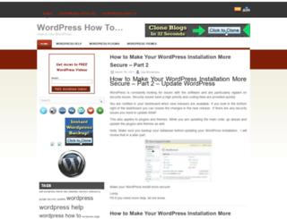 wordpresscreation101.com screenshot