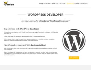 wordpressdeveloper.ie screenshot