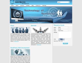 wordpressdevelopers.in screenshot