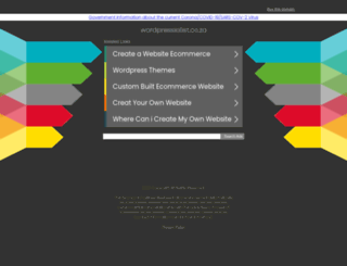 wordpressialist.co.za screenshot