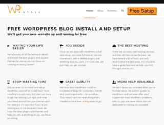 wordpressinstall.net screenshot
