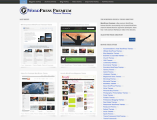 wordpresspremium.com screenshot