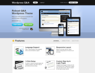 wordpressqa.com screenshot