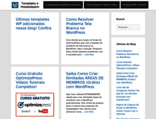 wordpresstemplateshospedagem.com screenshot