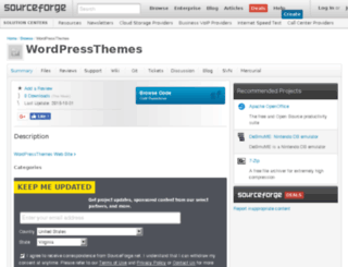 wordpressthemes.sourceforge.net screenshot