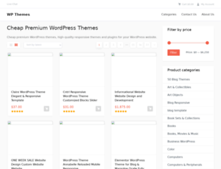 wordpressthemes.xyz screenshot