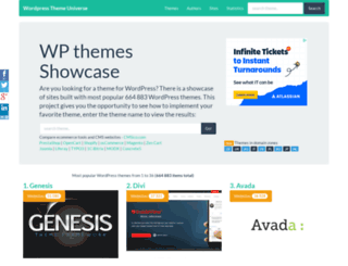 wordpressthemesamples.com screenshot