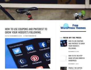 wordpressthemesforfree.com screenshot