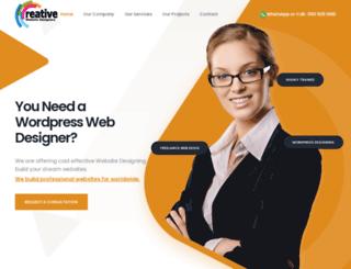 wordpresswebdesigning.com screenshot