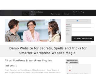 wordpresswizard.com.au screenshot