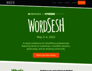 wordsesh.org screenshot