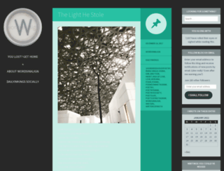 wordsinaline.wordpress.com screenshot