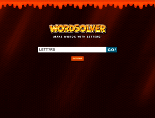 wordsolver.net screenshot