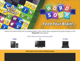 wordsoup.com screenshot
