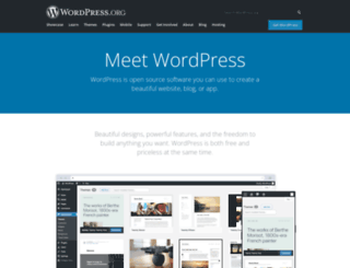 wordspress.org screenshot