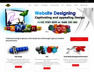 wordsrus.com.au screenshot