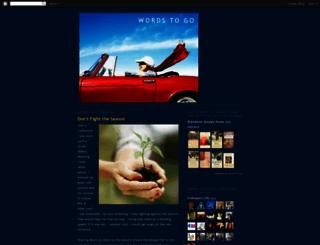 wordsunwired.blogspot.com screenshot
