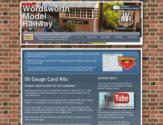 wordsworthmodelrailway.co.uk screenshot