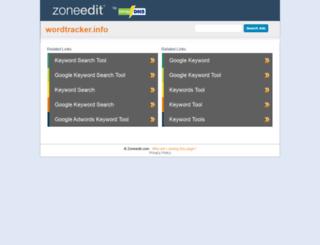 wordtracker.info screenshot