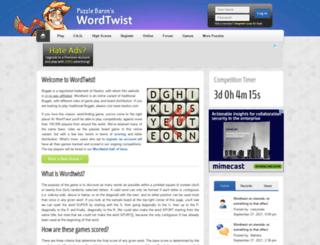 wordtwist.org screenshot